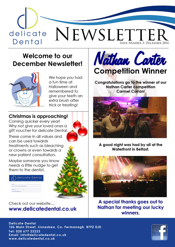 Delicate Dental December Newsletter