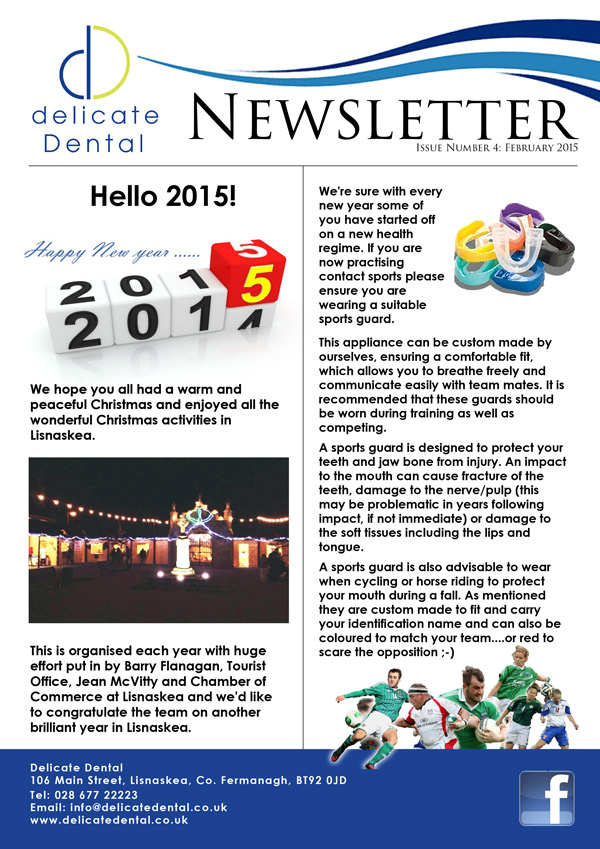 Delicate Dental February Newsletter